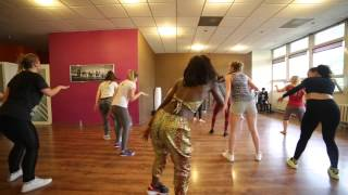 getlinkyoutube.com-Diamond Platnumz Ft Mr Flavour - Nana | Dance Class in Poland | By Sherrie Silver