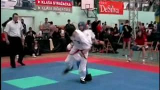 getlinkyoutube.com-Club Center Tang Soo Do Pulawy - Polish Championships Kickboxing