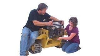 getlinkyoutube.com-Struck - Magnatrac Rs196K - Mini Bulldozer Kit - Compact Crawler Tractor