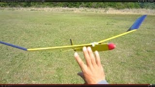 getlinkyoutube.com-RC Glider Hand launch & Catch グライダー手投げ&ハンドキャッチもちろん無動力