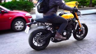 getlinkyoutube.com-Estamos grabando | Yamaha XSR 900 vs Ducati Monster 821