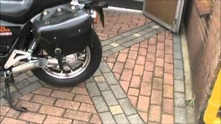 getlinkyoutube.com-Honda Magna V65 got some new awesome open tailpipes !