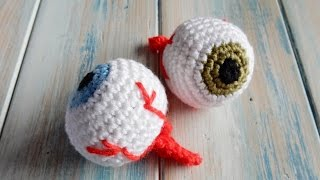 getlinkyoutube.com-How to Crochet an Eyeball