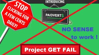 getlinkyoutube.com-Paidverts 2016 no sense to work here make money online with Paidverts impossible