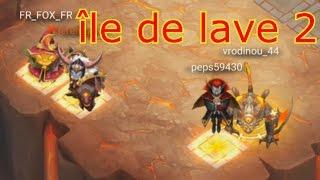 Castle Clash - île de lave 2