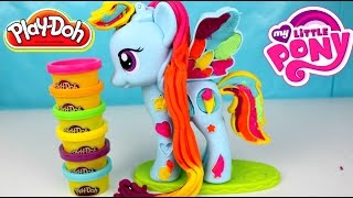 getlinkyoutube.com-Plastilina Play Doh My Little Pony Rainbow Dash | MLP PLAY DOH