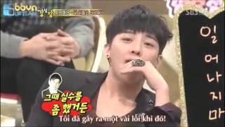 getlinkyoutube.com-[VIETSUB] STRONG HEART G-DRAGON DANCING IN FRONT OF SNSD MEMBERS - YOONA SNSD