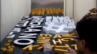 getlinkyoutube.com-channel letter (epoxy) - www.Thinkchannel.co.kr