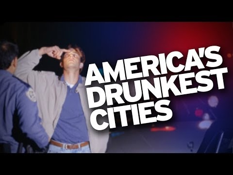 America's Top 25 Drunkest Cities