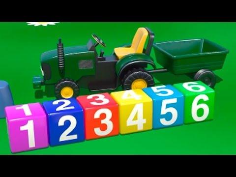 Spielplatz - 4 Traktor - Zeichentrick-Serien für Kinder