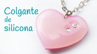 getlinkyoutube.com-Manualidades: COLGANTE de silicona (corazón) FÁCIL - Innova Manualidades