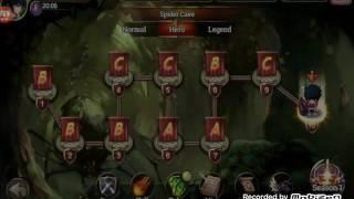 getlinkyoutube.com-Zenonia S mage lv 69 map season 2 ( Hero ) no use potion