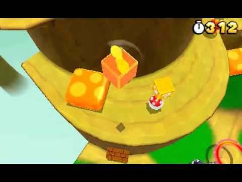 Super Mario 3D Land Propeller Mario Video