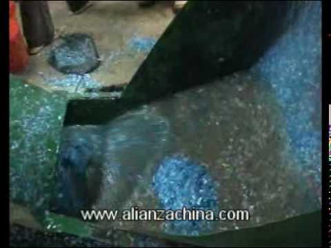 Maquina para reciclar Botella PET