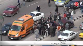 getlinkyoutube.com-AlexTv:حادث مروع على كورنيش الاسكندرية