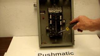 pushmatic circuit breaker box