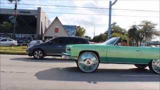 "getlinkyoutube.com-Outrageous Daytona Beach 1975 Caprice Donk on 30"" Dub Bandito Wheels"
