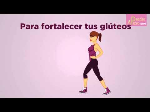 3 ejercicios para aumentar, fortalecer y levantar tus glúteos | APERDERPESO.COM