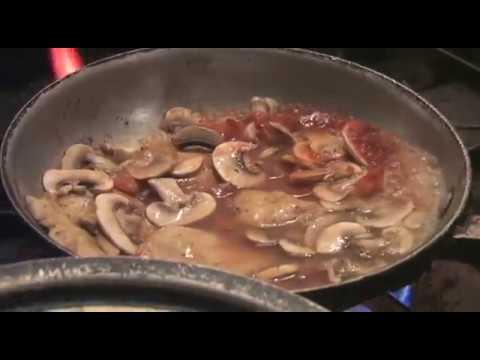Chicken Marsala recipe.  A classic Italian chicken dinner recipe