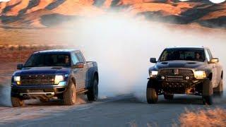 getlinkyoutube.com-Ford Raptor vs Ram Runner! - Head 2 Head Episode 14