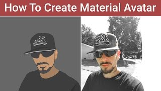 getlinkyoutube.com-Vector Portrait Profile Image Design - Photoshop Quick Tutorial