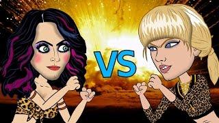getlinkyoutube.com-Taylor Swift Vs Katy Perry Fight (HHB Cartoon Parody)