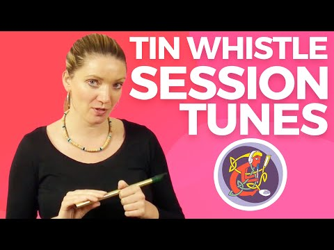 Intermediate Irish Tin Whistle lesson: Learn Paddy Taylor's Jig with Kirsten Allstaff from OAIM