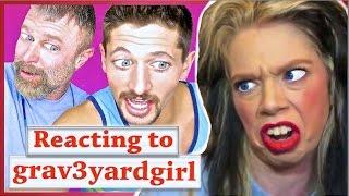 Montana guys REACT to grav3yardgirl!!!