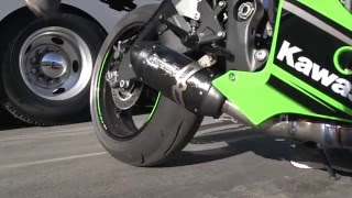 getlinkyoutube.com-Two Brothers Racing: S1R Black Exhaust System - 2016 Kawasaki ZX-10R