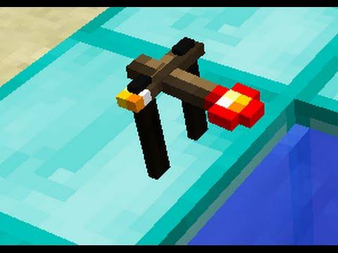 Drinking Bird in Minecraft