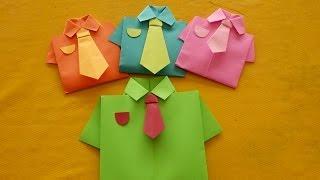 getlinkyoutube.com-Camisa de Origami