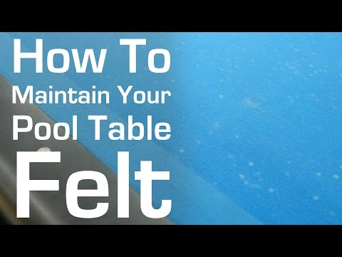 How To Maintain Your Pool Table Felt (And Avoid Burn Marks)