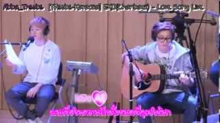 [THsubs-Karaoka] EXO(Chanbaek) - Love Song live