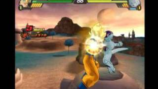 getlinkyoutube.com-Dragon ball z budokai tenkaichi 3 on dolphin 2390 (Goku vs Frieza) !!!☺☻