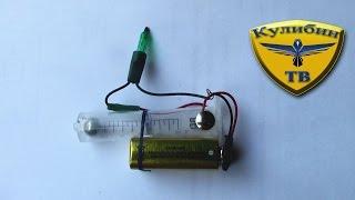 getlinkyoutube.com-Как сделать простейшую сигнализацию из ШПРИЦА? / how to make the alarm from the syringe