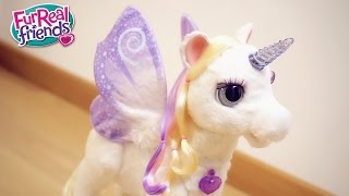 getlinkyoutube.com-Starlily il mio unicorno magico (e interattivo) - FurReal Friends