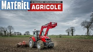 getlinkyoutube.com-Test drive du Massey Ferguson MF 6614 Dyna-VT by Matériel Agricole