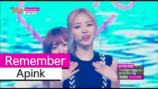 [HOT] Apink - Remember, 에이핑크 - 리멤버, Show Music core 20150725
