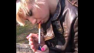 getlinkyoutube.com-Smoking Leathergirls - Bloopers