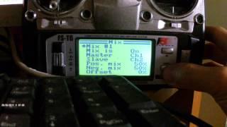 getlinkyoutube.com-Flysky FS-T6 settings for NAZA M Lite