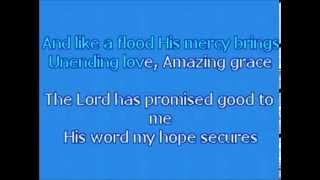 getlinkyoutube.com-KARAOKE   Chris Tomlin - Amazing Grace (My Chains are Gone) ORIGINAL KEY