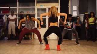 getlinkyoutube.com-Wizard ft. Chedda & Nyanda- Like a Pro - New dancehall Choreo by Aya