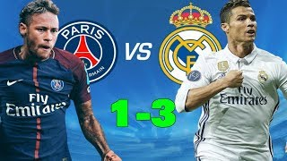 Real Madrid vs PSG 3-1 - Full match goal Highlights - UCL 14/02/2018 HD | PSG Vs Real Madrid 2018