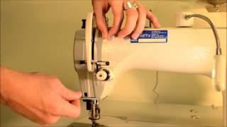 getlinkyoutube.com-Industrial Walking Foot - Juki DU-1181N