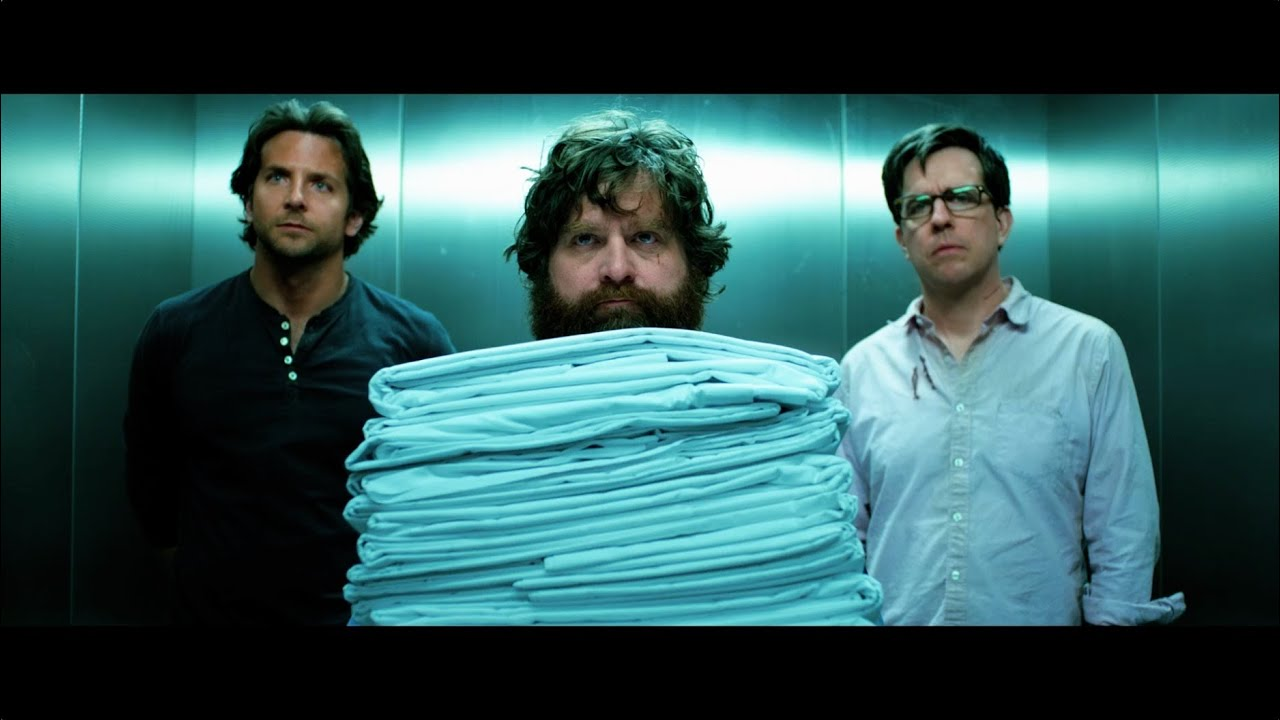 You're looking forward to The Hangover Part III