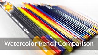 getlinkyoutube.com-Watercolor Pencil Comparison