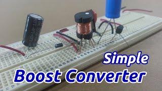 getlinkyoutube.com-Simple Boost Converter