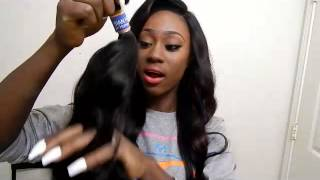 getlinkyoutube.com-Aliexpress: Ali Moda: Malaysian Loose Wave