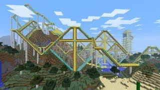 getlinkyoutube.com-Best Minecraft Roller Coaster Ever!