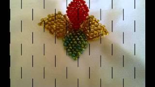 getlinkyoutube.com-Contoh Corak Manik 3D Kelopak Bunga.mov